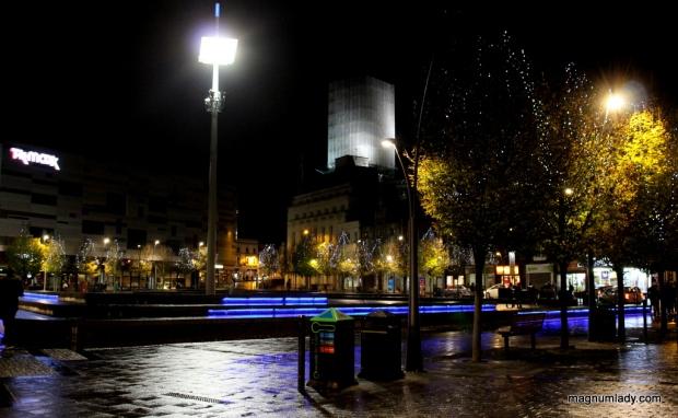 Luton at night
