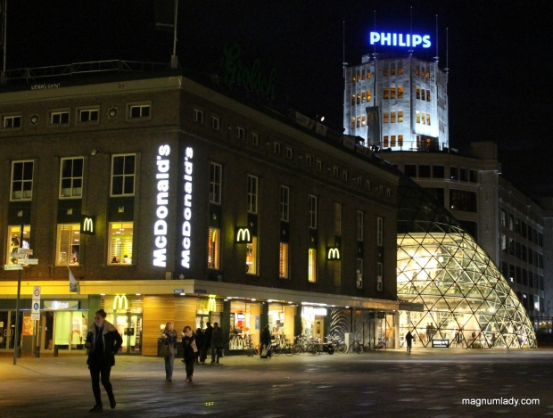 Eindhoven at night