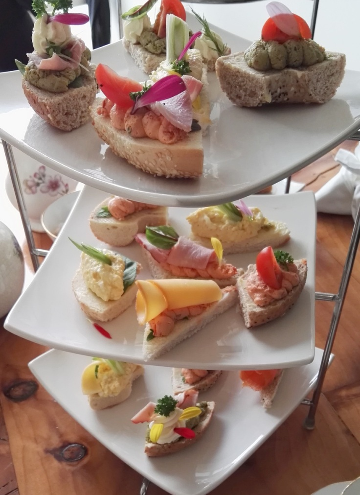 Afternoon Tea savoury selection