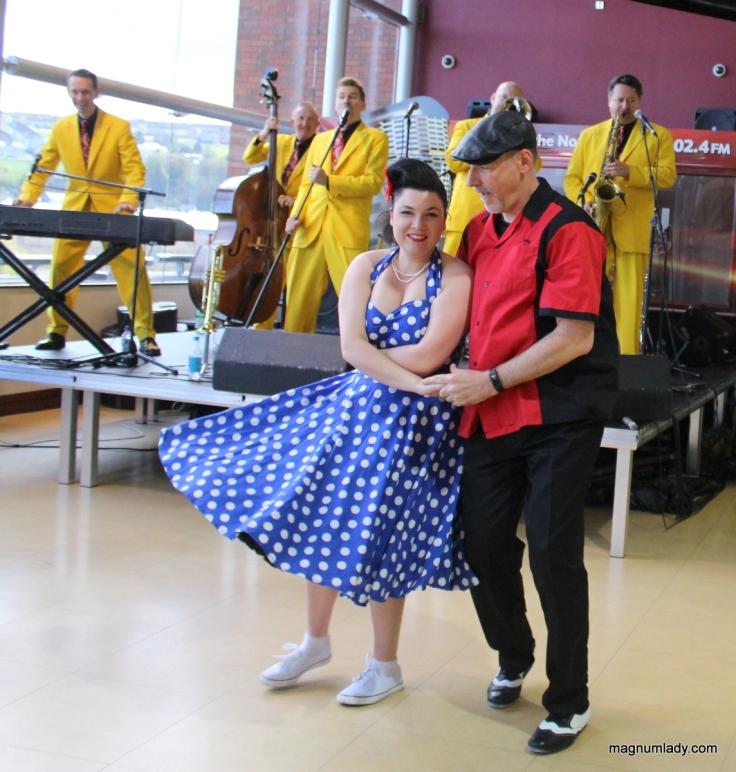 Dancing in Derry