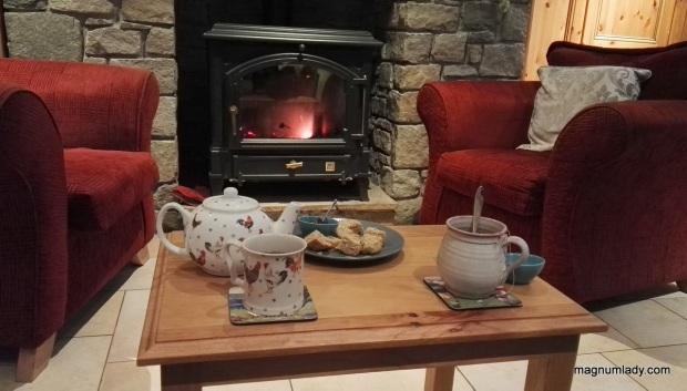 Tea and a warm welcome