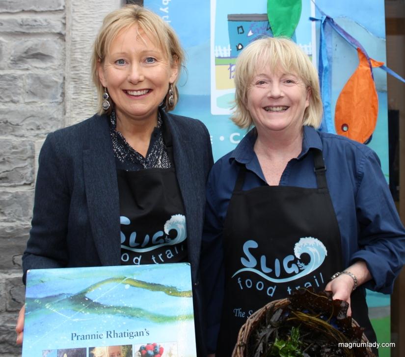 Prannie Rhatigan and Eithna O'Sullivan