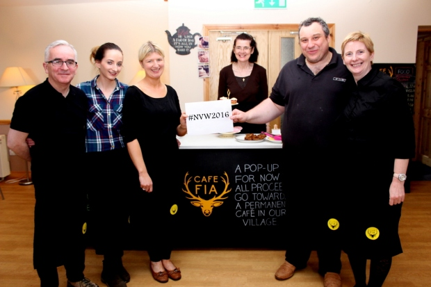 Cafe Fia volunteers