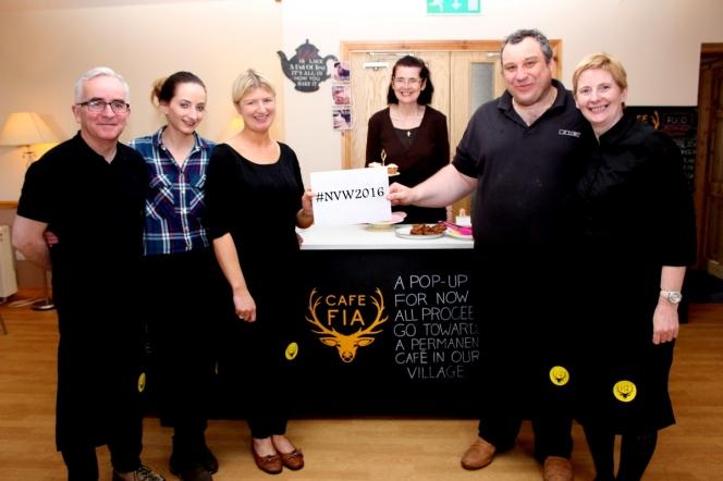 Cafe Fia volunteers