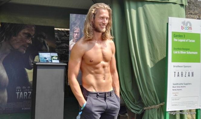 Him Tarzan. Me not Jane