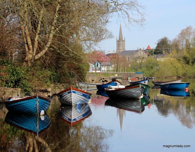 The Garavogue and Sligo Town