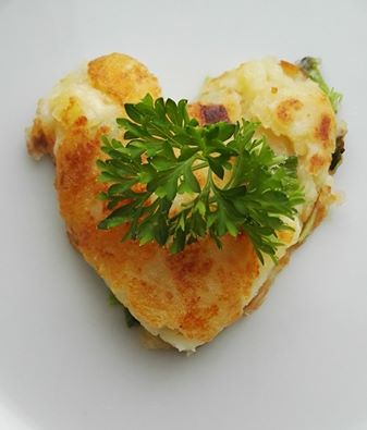 Irish potato cake