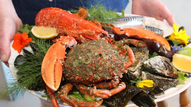 Eithna's Seafood Platter