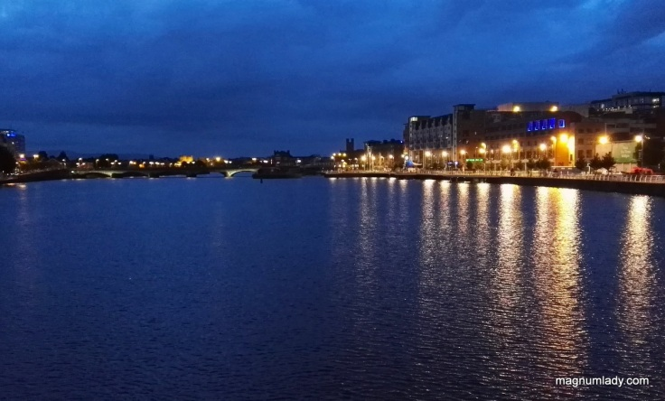 Limerick at night