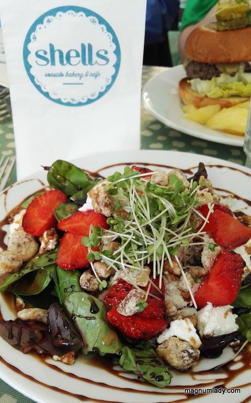 Seasonal Salad, Shells, Strandhill, Sligo