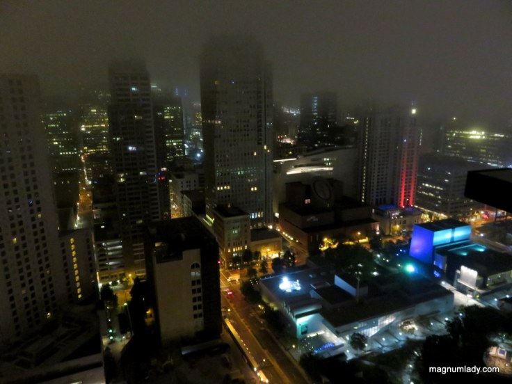 View from the Marriott Marquis San Francisco