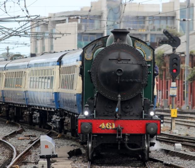 Steam Train at Dublin Connolly