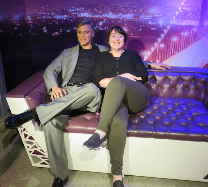 Me with George Clooney