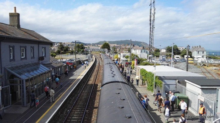 The train at Greystones