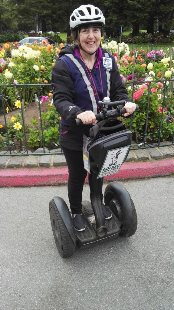 Me on a segway