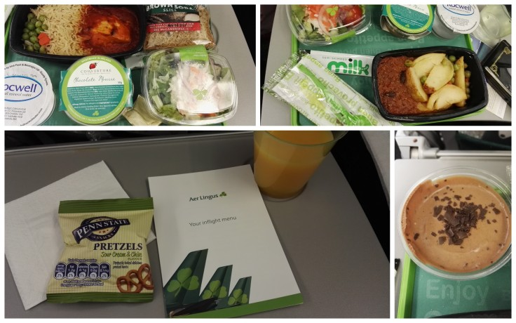 Food on the plane