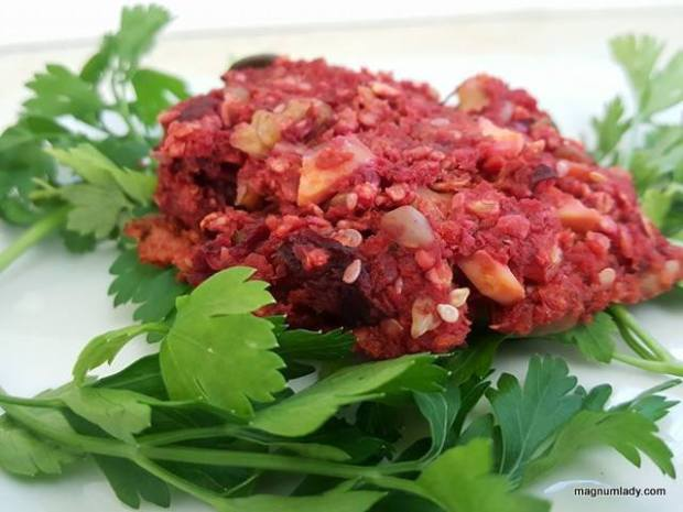 Carrot and Beetroot Burgers