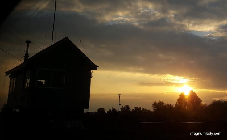 Sunrise at Longford