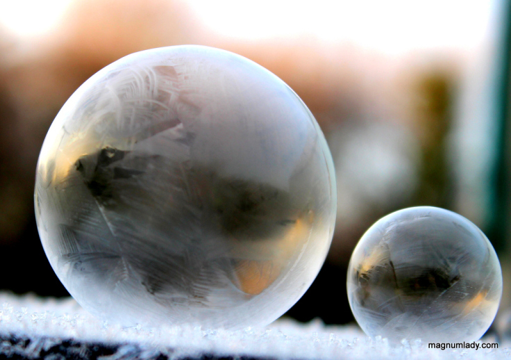 frozen-bubbles