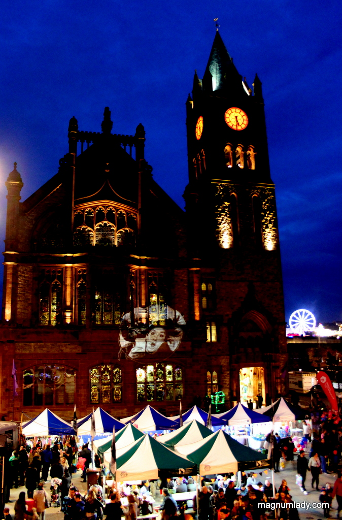 Derry Guildhall and Market