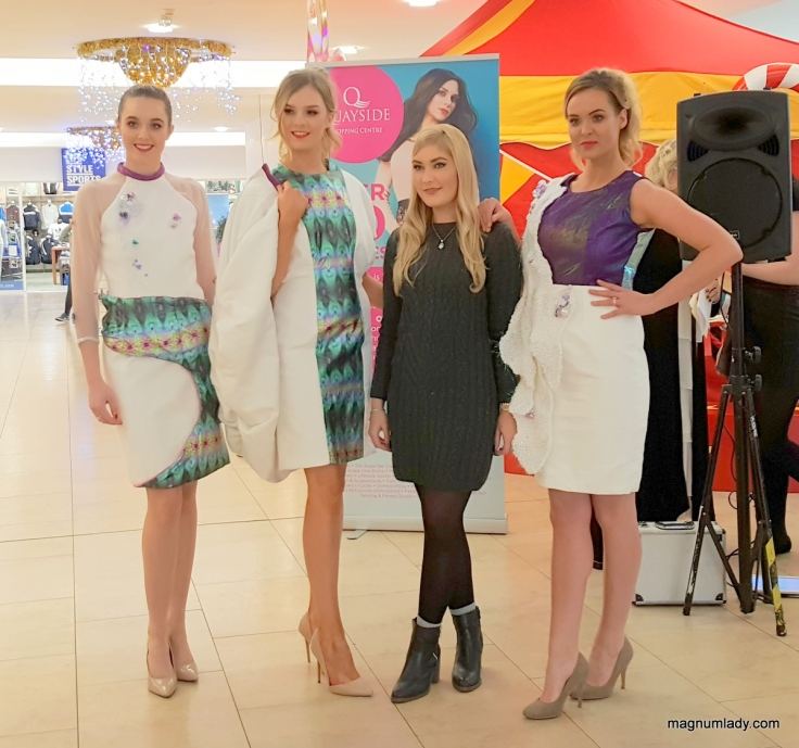Roseanne McNamee with the Models