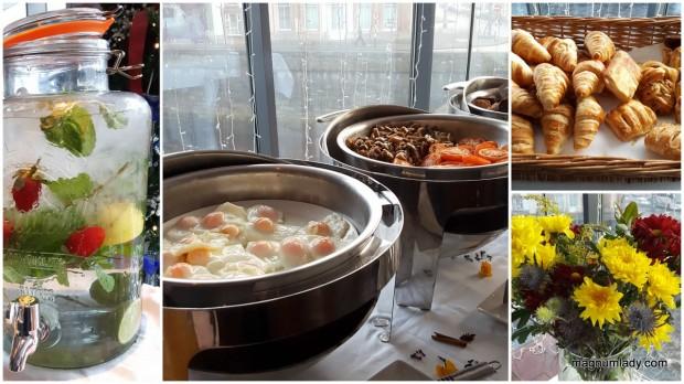 Glasshouse Hotel Breakfast