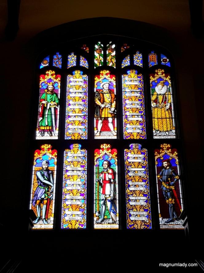 Markree Castle Stained Glass Window