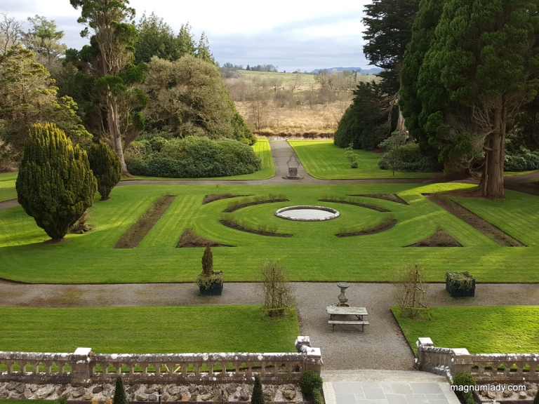 Markree Castle gardens