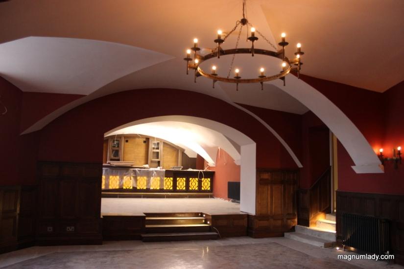 Markree Castle Entertainment Room