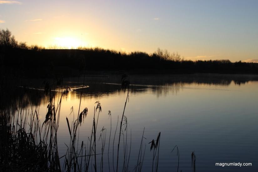Sunrise over Clare Lake