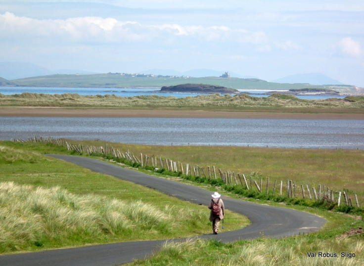 Streedagh walk towards Mullaghmore Castle