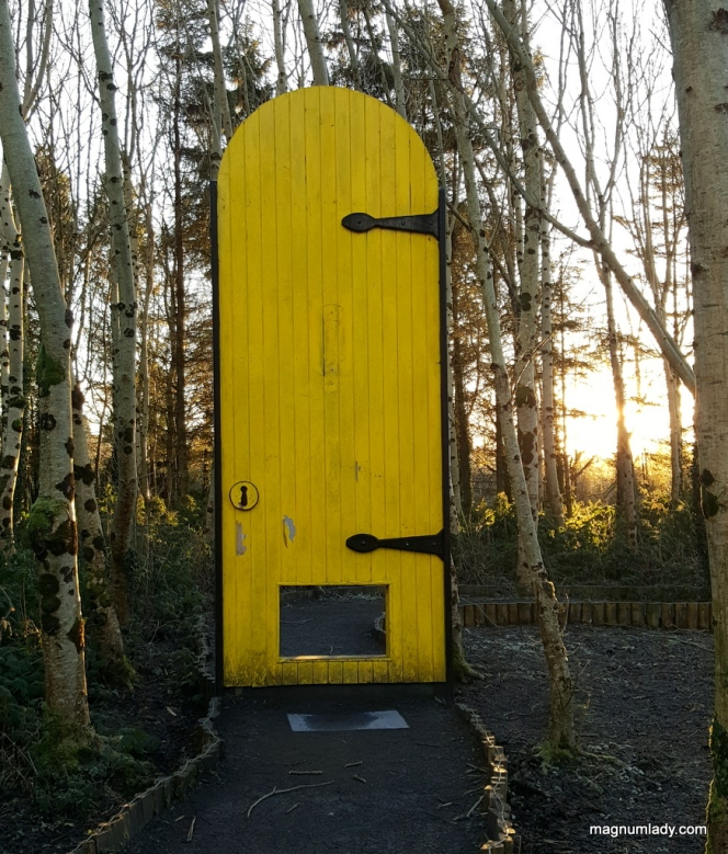 Giant Yellow Door