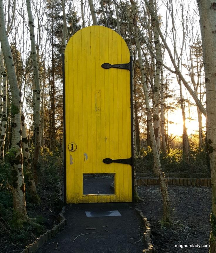 Giant Yellow Door