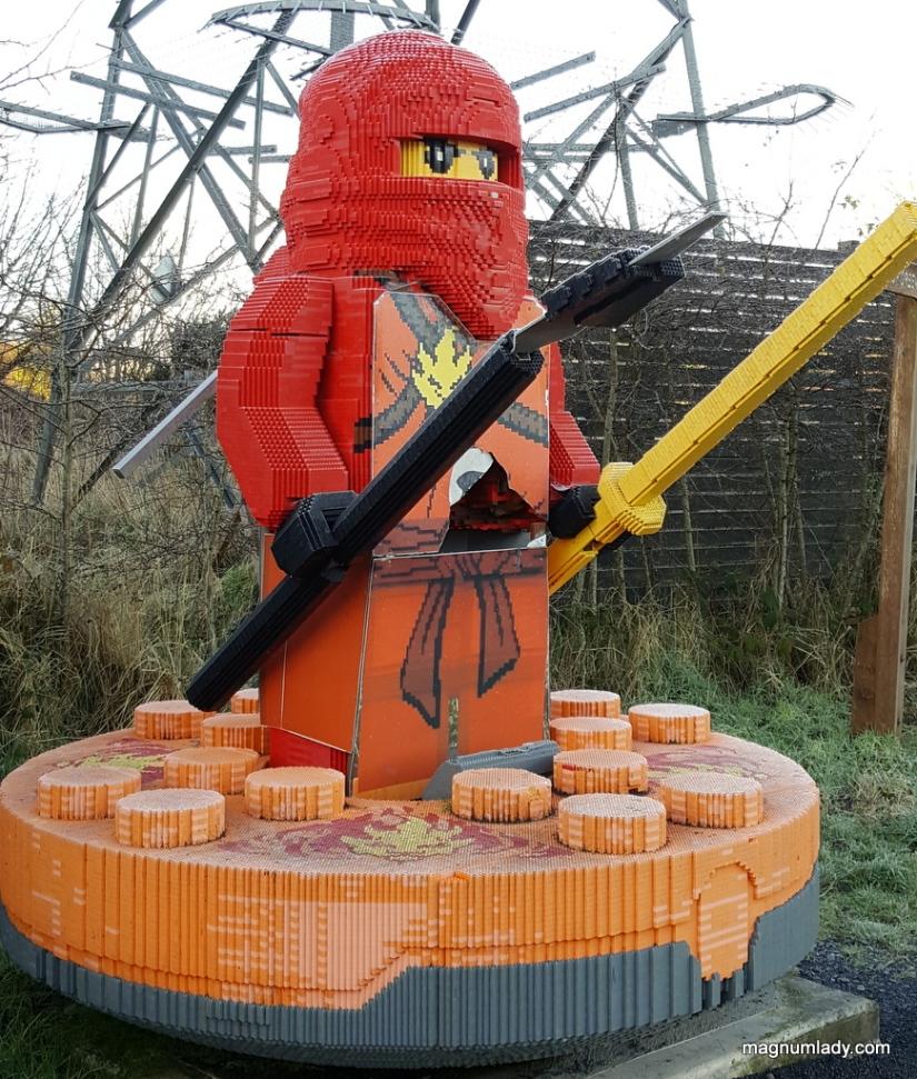 Giant Lego Figure