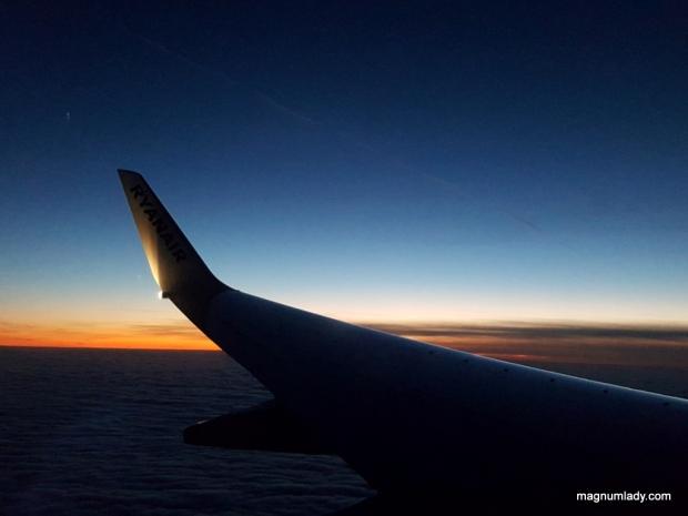 Ryanair Sunset
