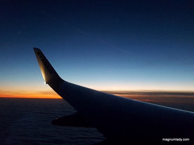 Ryanair Sunset