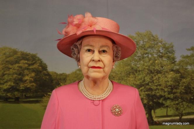 The Queen - waxwork