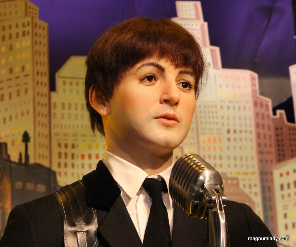 Paul McCartney Waxwork