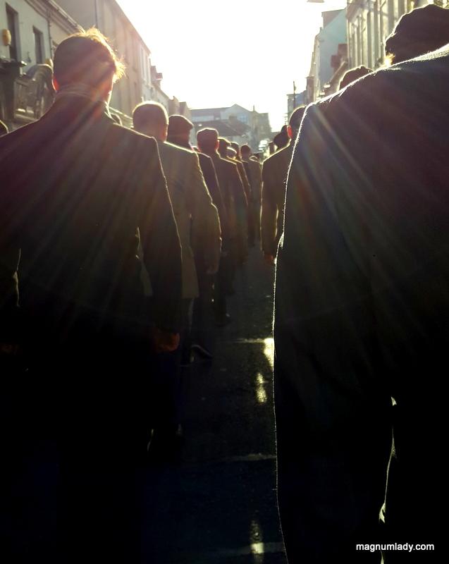 Blue Raincoat Armistice Centenary Walk
