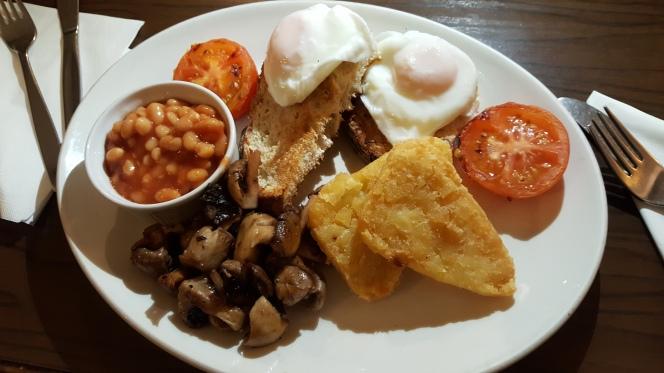 Cawley's Tubbercurry Vegetarian breakfast