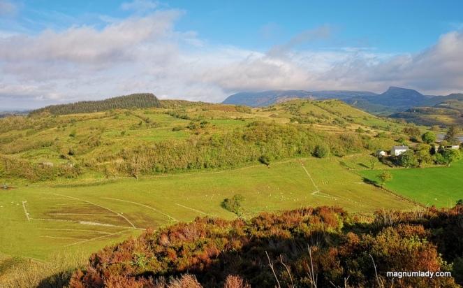 Irish mountain landscape
