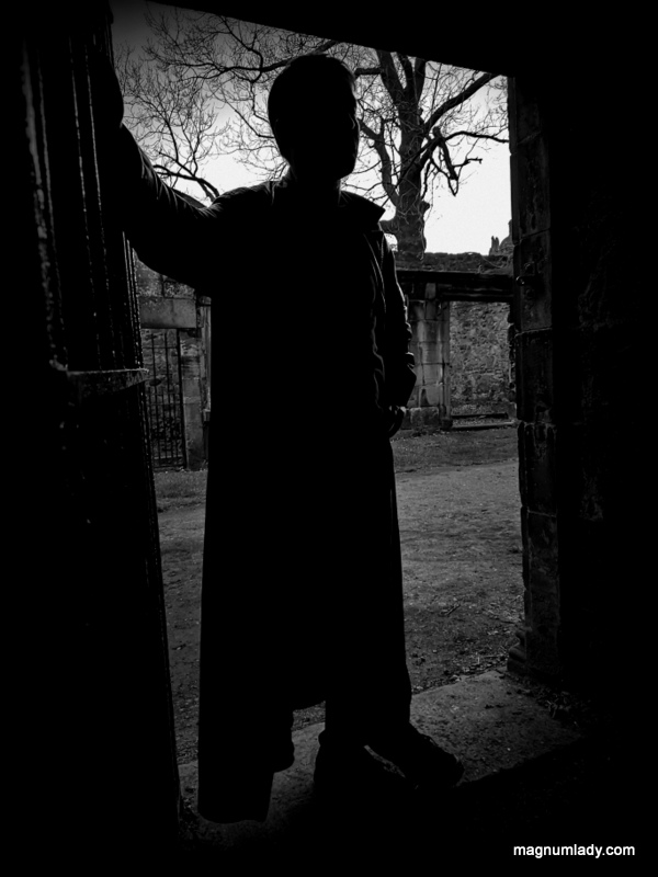 Spooky cemetery tour